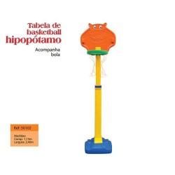 Basquete Hipopotamo- Mundo Azul